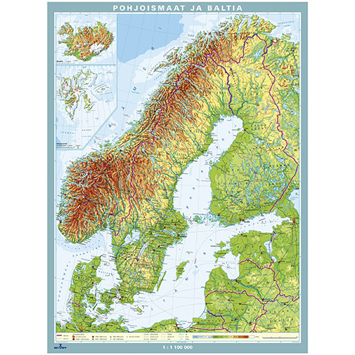 Kartta Pohjola Jousiputkeen Is Vet