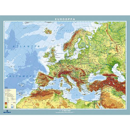 Eurooppa 2013 Kartta Europa 2013 Kartan