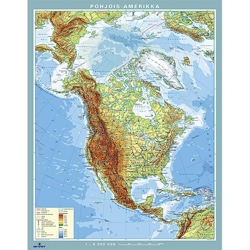 Kartta Pohjois Amerikka Is Vet